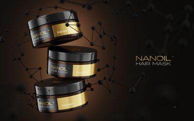 Nanoil the best keratin hair masks