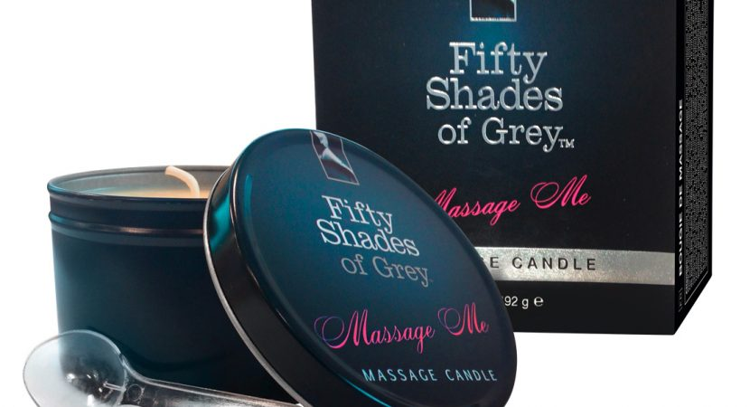 Fifty Shades Of Grey Massage Me Candle